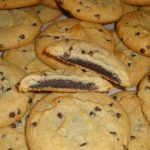 Fudge filled cookie