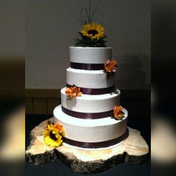 Four Tier Cake Wedding