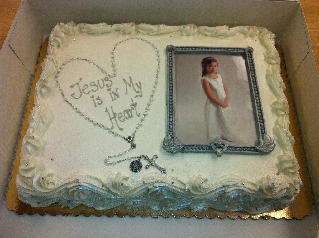 First Communion Cakes 187 Corbo S Bakery
